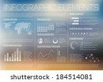 white transparent vector set of ...   Shutterstock .eps vector #184514081