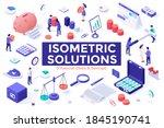 financial deals and savings set ... | Shutterstock .eps vector #1845190741