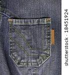 Grey Jean Pocket To Backround