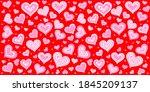 Valentine Seamless Hearts...