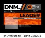 leader the new generation ... | Shutterstock .eps vector #1845220231