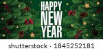 new year realistic vector... | Shutterstock .eps vector #1845252181