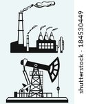 concept of oil industry and... | Shutterstock . vector #184530449