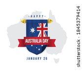 Happy Australia Day Vector...
