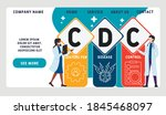 Flat Design With People. Cdc  ...