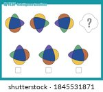 educational game for kids and... | Shutterstock .eps vector #1845531871