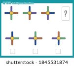 educational game for kids and... | Shutterstock .eps vector #1845531874
