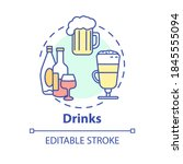 drinks concept icon. refreshing ... | Shutterstock .eps vector #1845555094