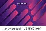 minimal geometric creative... | Shutterstock .eps vector #1845604987