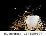 cosmetic design mockups 3d...   Shutterstock . vector #1845659977