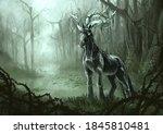 Kelpie Unicorn Creature...