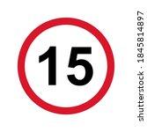 15  restriction flat sign...