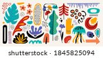 modern abstract elements set ... | Shutterstock .eps vector #1845825094