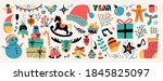 modern abstract elements set... | Shutterstock .eps vector #1845825097