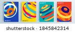 modern abstract covers set ... | Shutterstock .eps vector #1845842314