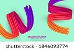 color brushstroke oil or... | Shutterstock .eps vector #1846093774
