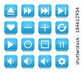 16 media control icon set 06....