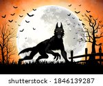 Halloween Background With Black ...