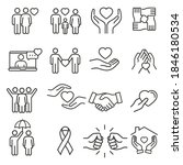 generous and sympathize icon... | Shutterstock .eps vector #1846180534