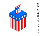usa election day. vote in... | Shutterstock .eps vector #1846191457