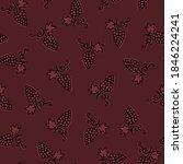 seamless pattern grapes....   Shutterstock .eps vector #1846224241