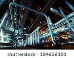 industrial zone  steel... | Shutterstock . vector #184626101