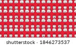 bear seamless pattern polar... | Shutterstock .eps vector #1846273537