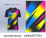 fabric textile for sport t... | Shutterstock .eps vector #1846297291