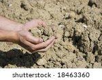 soil in hand | Shutterstock . vector #18463360