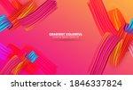 color brushstroke oil or... | Shutterstock .eps vector #1846337824