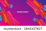color brushstroke oil or... | Shutterstock .eps vector #1846337827