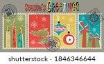 winter season's greetings... | Shutterstock .eps vector #1846346644