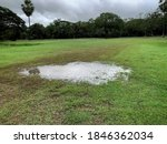 Flooded Soccer Field After...