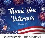 thank you veterans for serving... | Shutterstock .eps vector #1846398994