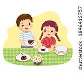 vector illustration cartoon of...   Shutterstock .eps vector #1846413757