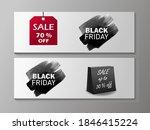 black friday sale lettering... | Shutterstock .eps vector #1846415224