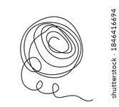 Stylized Ball Of Threads Theory ...