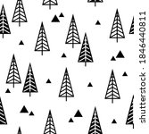 seamless pattern with christmas ... | Shutterstock .eps vector #1846440811