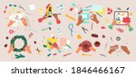 craft hobby vector illustration ...   Shutterstock .eps vector #1846466167