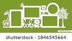 set of merged kids photo frames ... | Shutterstock .eps vector #1846545664