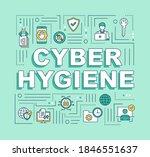 cybersecurity hygiene word...