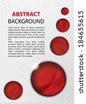 abstract vector background | Shutterstock .eps vector #184655615