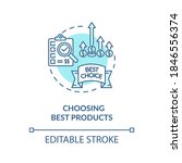 choosing best products concept... | Shutterstock .eps vector #1846556374