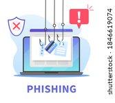 internet phishing  stealing...   Shutterstock .eps vector #1846619074