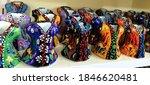 Colorful Handmade Caftan...