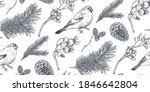 vector seamless pattern with... | Shutterstock .eps vector #1846642804
