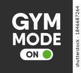 vector sport  fitness or gym... | Shutterstock .eps vector #1846687264
