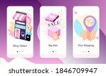 vector illustration of shop...