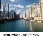 view of downtown buildings... | Shutterstock . vector #1846715947