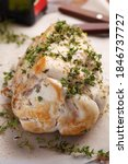 raw turkey breast roll with...   Shutterstock . vector #1846737727